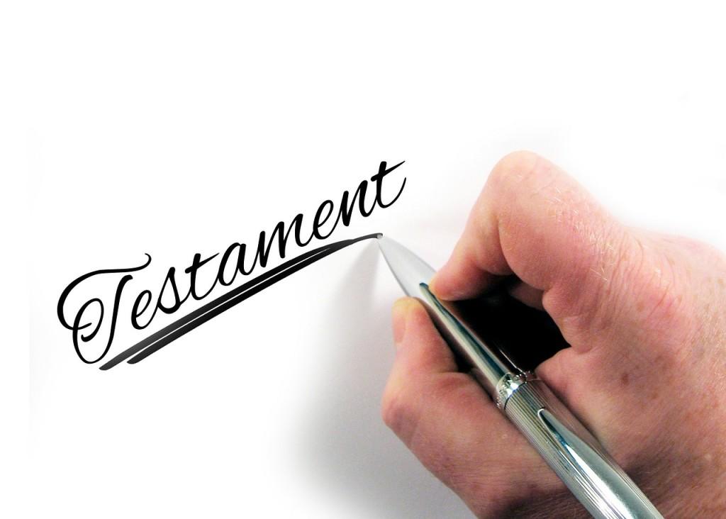 jak napisać testament ?