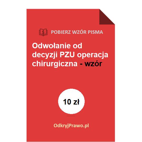 Odwołanie-od-decyzji-PZU-operacja-chirurgiczna-wzor-doc-pdf