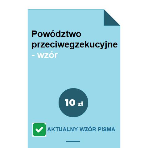 powodztwo-przeciwegzekucyjne-wzor-pdf-doc