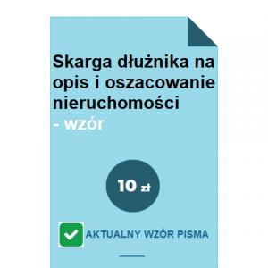 skarga-dluznika-na-opis-i-oszacowanie-nieruchomosci-wzor-pdf-doc