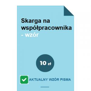 skarga-na-wspolpracownika-wzor-pdf-doc