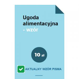 ugoda-alimentacyjna-wzor-pdf-doc