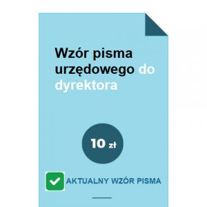 wzor-pisma-urzedowego-do-dyrektora-pdf-doc