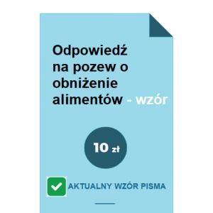 odpowiedz-na-pozew-o-obnizenie-alimentow-wzor-pdf-doc