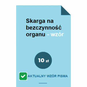skarga-na-bezczynnosc-organu-wzor-pdf-doc