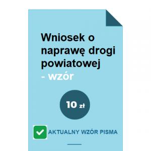 wniosek-o-naprawe-drogi-powiatowej-wzor-pdf-doc