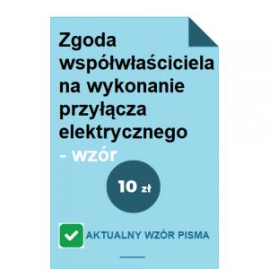 zgoda-wspolwlasciciela-na-wykonanie-przylacza-elektrycznego-wzor-pdf-doc