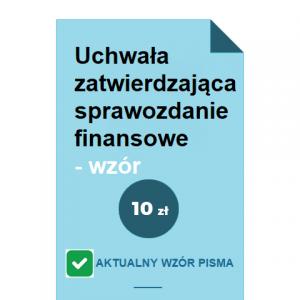 uchwala-zatwierdzajaca-sprawozdanie-finansowe-wzor-pdf-doc