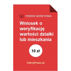 wniosek-o-weryfikacje-wartosci-dzialki-mieszkania-wzor-pdf-doc