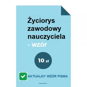 zyciorys-zawodowy-nauczyciela-wzor-pdf-doc