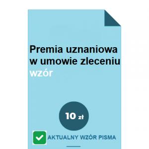 premia-uznaniowa-w-umowie-zleceniu-wzor-pdf-doc