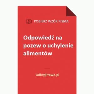 Odpowiedz-na-pozew-o-uchylenie-alimentow-wzor-doc-pdf