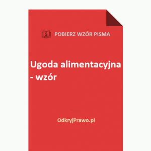ugoda-alimentacyjna-wzor-doc-pdf
