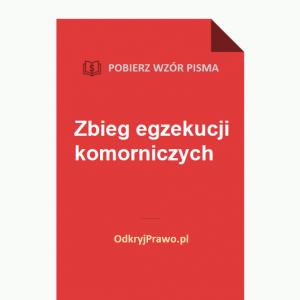 zbieg-egzekucji-komorniczych-wzór-pisma-doc-pdf
