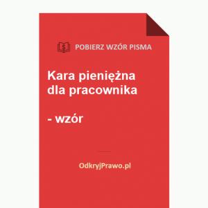 Kara-pieniezna-dla-pracownika-wzor-doc-pdf