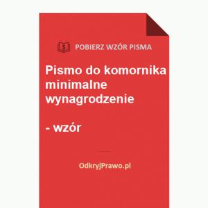 Pismo-do-komornika-minimalne-wynagrodzenie-wzor-doc-pdf