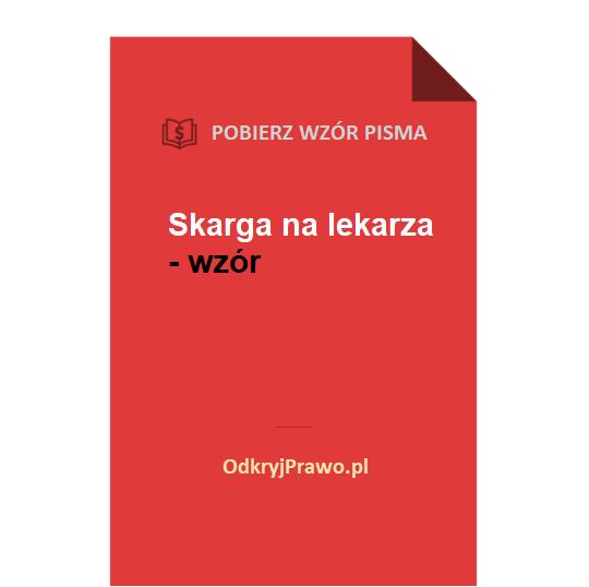 Skarga-na-lekarza-wzor-pdf-doc