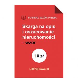 Skarga-na-opis-i-oszacowanie-wzor-pdf-doc